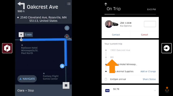 How Uber Passengers Can Enter Multiple Destinations On Their